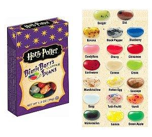 Feijões de todos os sabores (Bertie Botts) Harry Potter