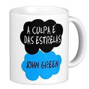 Caneca A Culpa é das Estrelas - Okay okay / Jonh Green