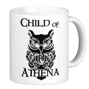 Caneca Percy Jackson - Child of Athenas