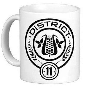 Caneca Jogos Vorazes - District 11