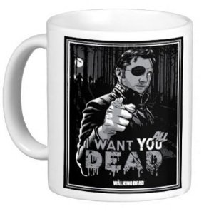Caneca The Walking Dead - I want you all dead