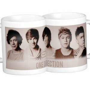 Caneca One Direction - modelo 3