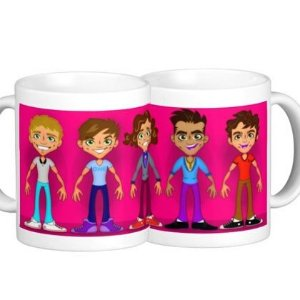 Caneca One Direction - modelo 4