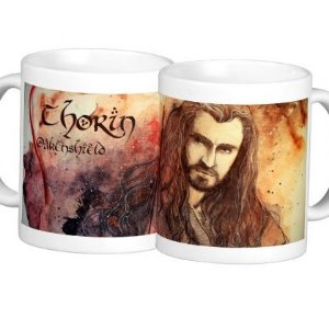 Caneca The Hobbit - modelo 1 (Thorin Oakenshield)