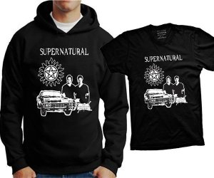 Camiseta Supernatural (ou moletom)