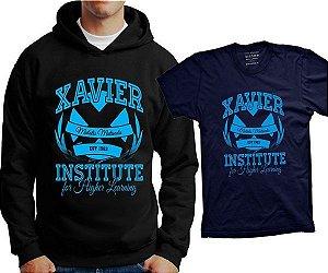 Camiseta X-Men - Xavier Institute For Higher Learning (ou moletom)