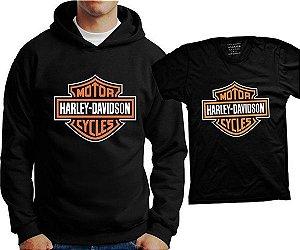 Camiseta Harley Davidson (ou Moletom)