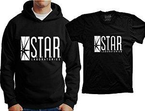 Camiseta Flash - Star Laboratories (ou moletom)