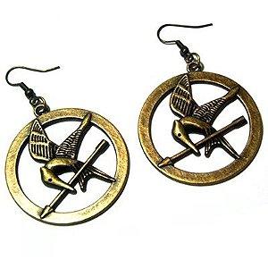 Brincos Jogos Vorazes - Tordo - The Hunger Games