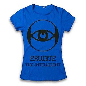 Camiseta Divergente - Erudição / Erudite