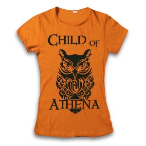 Camiseta Percy Jackson - Child Of Athena