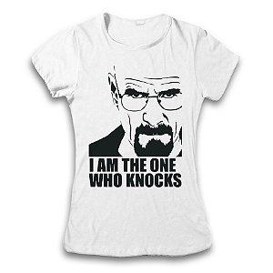 Camiseta Breaking Bad - I Am The One Who Knocks