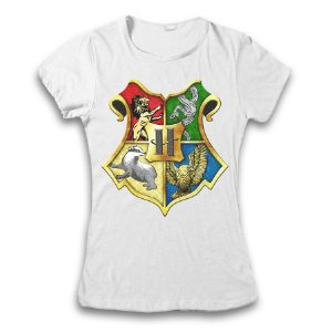 Camiseta Harry Potter - Hogwarts modelo 2