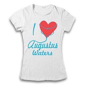 Camiseta A Culpa É Das Estrelas - I Love Augustus Waters