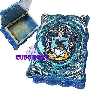 Harry Potter - Caixa ondulada com brasão da Corvinal
