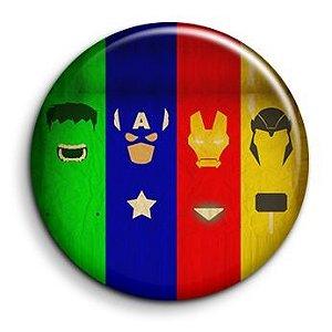 Vigadores -  Avengers Botton modelo 50