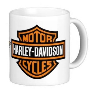 Caneca Harley Davidson - modelo 1