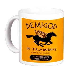 Caneca Percy Jackson - Demigod in Training