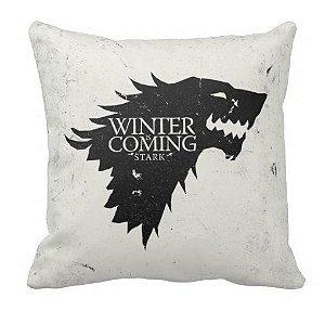Almofada Guerra dos Tronos - Stark - Winter is Coming