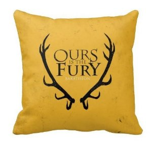 Almofada Guerra dos Tronos - Baratheon - Ours is The Fury