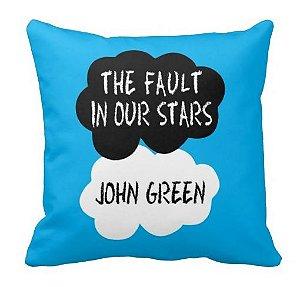 Almofada A Culpa é Das Estrelas - The Fault in Our Stars: John Green