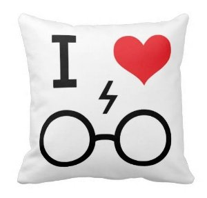 Almofada Harry Potter - I Love HP