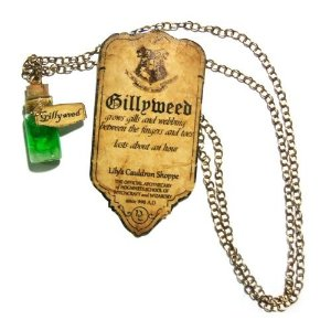 Colar Harry Potter Poções - Gillyweed