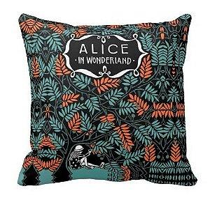 Almofada Alice no País das Maravilhas - Livro