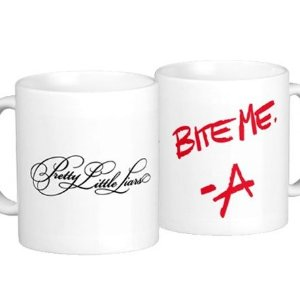 Caneca Pretty Little Liars - Logo / -A