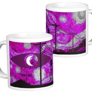 Caneca Welcome to Night Vale - Pintura