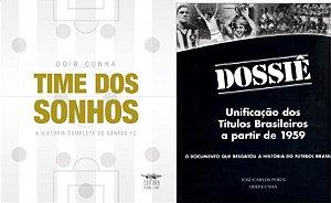 Time dos Sonhos + Dossiê com dedicatórias de Odir Cunha, frete pago para qualquer lugar do Brasil + 3 PDFs por apenas 62 reais
