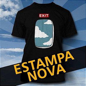 Camiseta Exit Window Preta