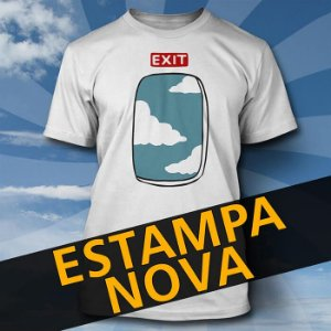 Camiseta Exit Window Branca