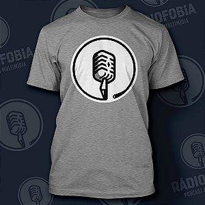 Camiseta Rádiofobia - Mescla Minimalista