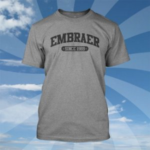 Camiseta Embraer College