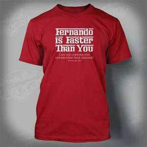 "Camiseta PF1BR - ""Fernando is faster than you"""