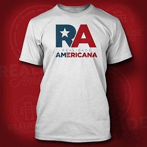 Camiseta Realidade Americana Old School