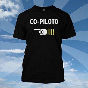 Camiseta CO-PILOTO - Avião
