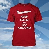 Camiseta Keep Calm And Go Around