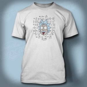 Camiseta RickEinstein Branca