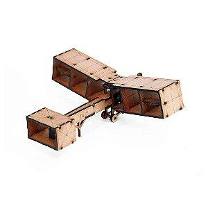 Avião - Miniatura para montar 14-bis
