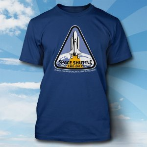 Camiseta Space Shuttle