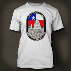 Camiseta Guga Dias - Mão do Deserto