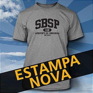 Camiseta SBSP CGH - Série Aeroportos