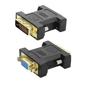 ADAPTADOR DVI 24+5 MACHO X VGA FEMEA
