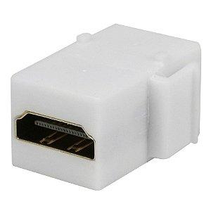 CONECTOR KEYSTONE HDMI BRANCO