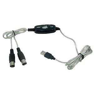 CABO MIDI USB A MACHO X DIN 5P 2 METROS