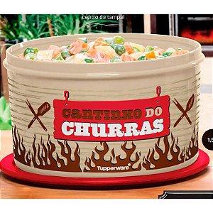 Tupperware Pote Master Cantinho do Churras 1,5 litro