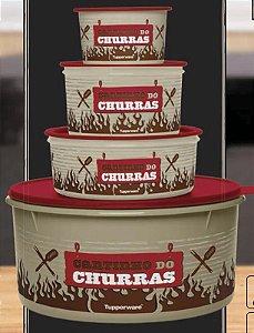 Tupperware Kit Churras 4 peças