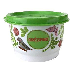 Tupperware Potinho Floral Orégano 140ml